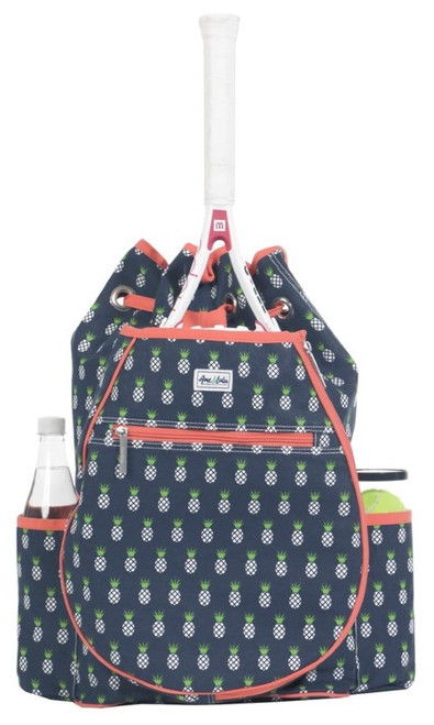 SALE Ame & Lulu Ladies Kingsley Tennis Backpacks - Pineapple