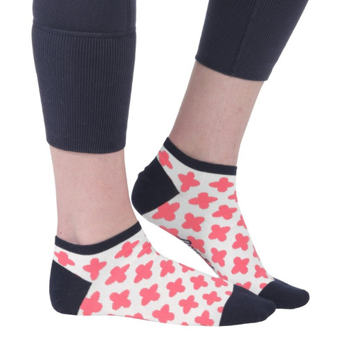 Ame & Lulu Ladies Meet Your Match Socks - Clover