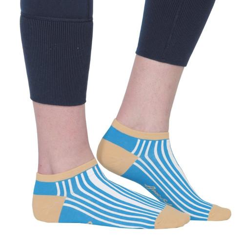 Ame & Lulu Ladies Meet Your Match Socks - Ticking Stripe
