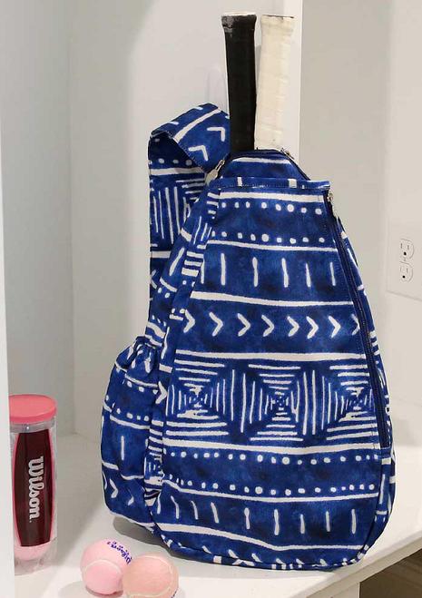 Buckhead Betties Ladies Tennis Backpacks - Indigo Daze