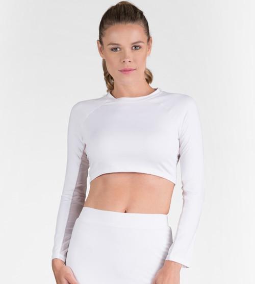 Tail Ladies & Plus Size Sun Protection Sasha Top - ESSENTIALS (White)
