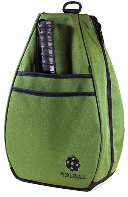 40 Love Courture Ladies Pickleball Backpacks - Olive Drab/Black Lining