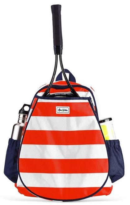 Ame & Lulu Ladies Game On Tennis Backpacks - Sailor