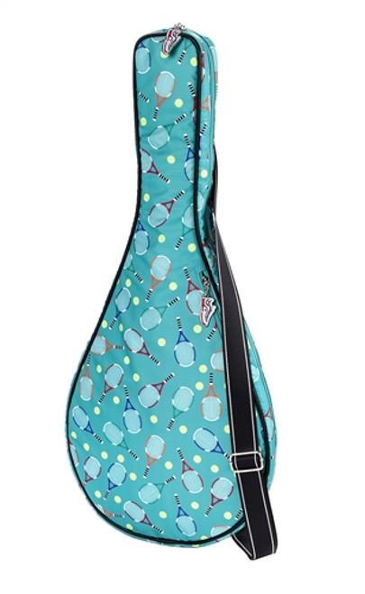 Sydney Love Ladies Serve It Up Tennis Racquet Bag - Turquoise