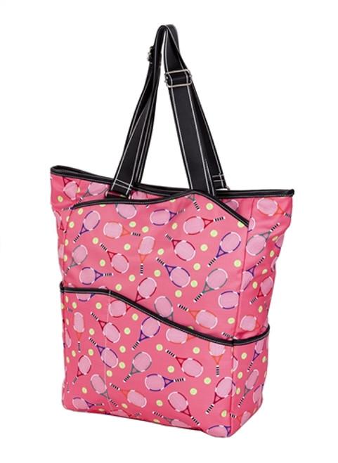 Sydney Love Ladies Serve It Up  Large Tennis Tote Bag - Pink
