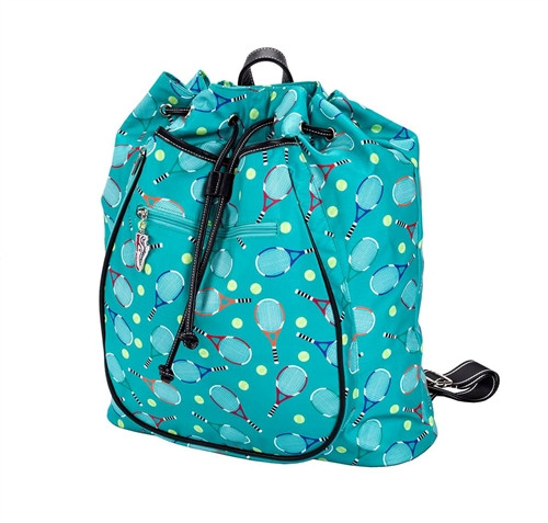 Sydney Love Ladies Serve It Up Tennis Backpack - Turquoise