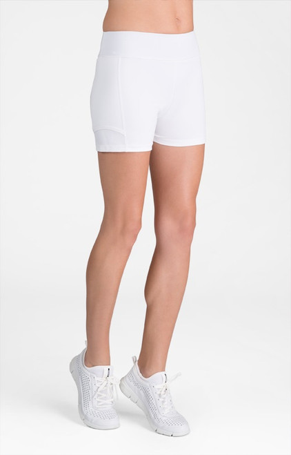 "Tail Ladies & Plus Size Antonia 3.5"" Tennis Shorts - ESSENTIALS (White)"