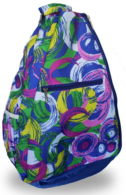 NTB Ladies Tennis Backpack - Hailey (Blue Picasso)