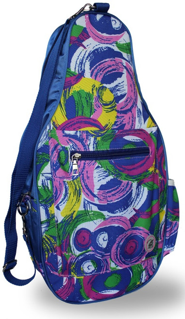 NTB Ladies Pickleball Bags - Poppy (Blue Picasso)