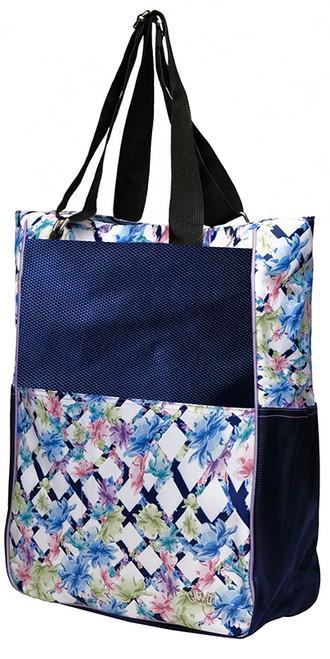 Glove It Ladies Tennis Tote Bags - Pastel Lattice