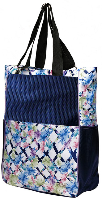 Glove It Ladies Tennis Tote Bags - Pastel Lattice