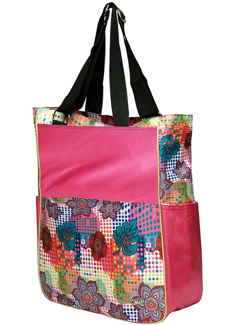 Glove It Ladies Tennis Tote Bags - Bloom
