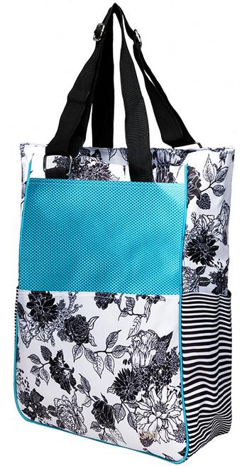 Glove It Ladies Tennis Tote Bags - B/W Rose