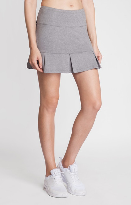 """Tail Ladies & Plus Size Doral 14.5"""" Pleated Tennis Skorts - ESSENTIALS (Frosted Heather)"""