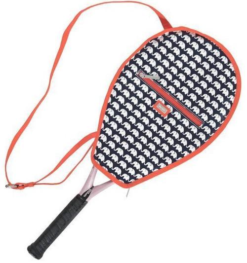 Ame & Lulu Ladies Riley Tennis Racquet Cover - Ellie