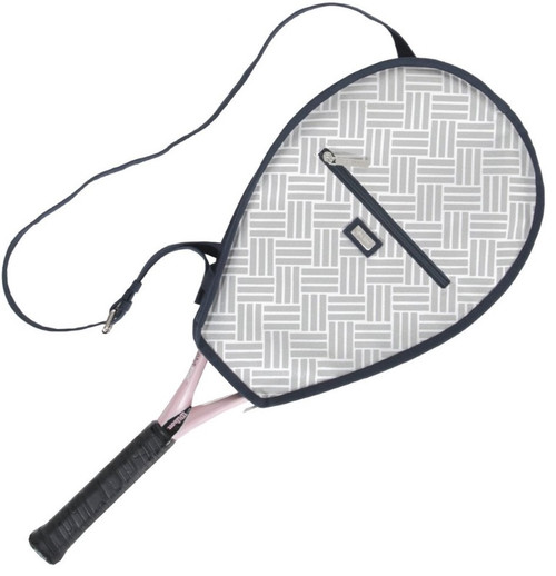 Ame & Lulu Ladies Riley Tennis Racquet Cover - Taj