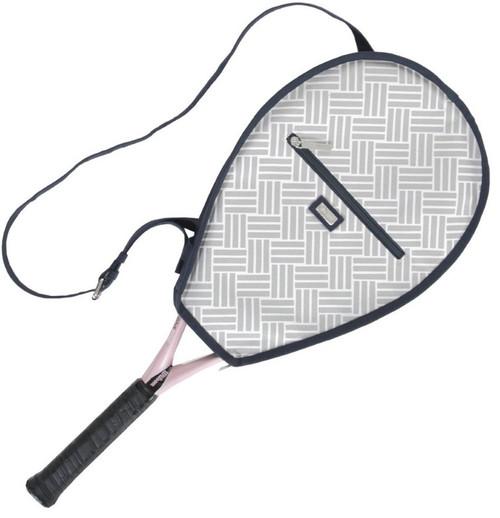 Ame & Lulu Ladies Riley Tennis Racquet Cover - Taj