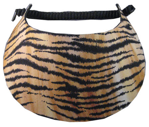 Miracle Lace Ladies Tennis Visors - Tiger (Animal Prints)