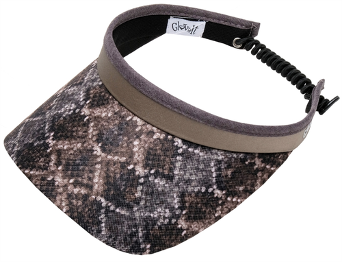Glove It Ladies Print Tennis Visors (w/ Twist Cord) - Diamondback