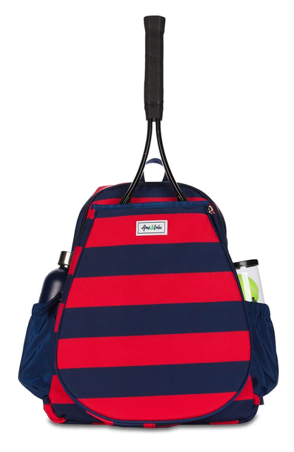Ame & Lulu Ladies Game On Tennis Backpacks - Anchor