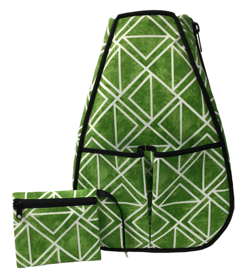 40 Love Courture Ladies Sophi Tennis Backpacks - Maze with Black Lining