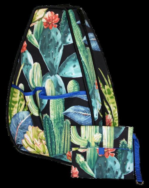 40 Love Courture Ladies Sophi Tennis Backpacks - Sedona with Black Lining
