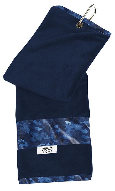 Glove It Ladies Tennis Towels - Blue Camo