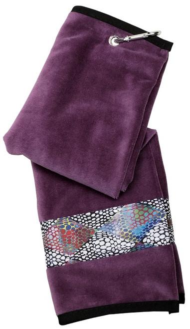 Glove It Ladies Tennis Towels - Patina Diamond