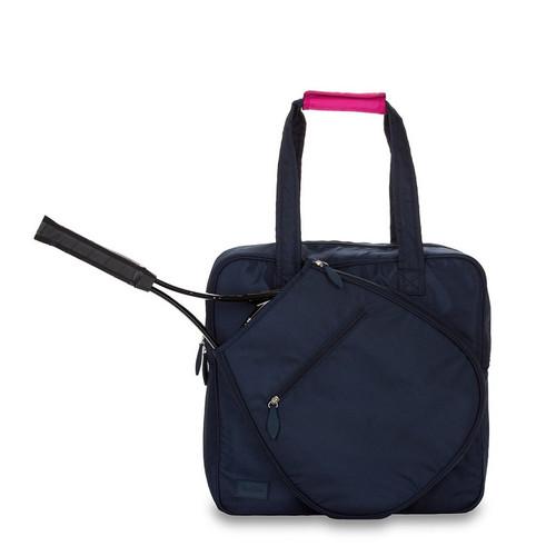 Ame & Lulu Ladies Sweet Shot 3.0 Tennis Tote Bags - Navy