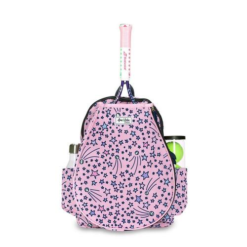 Ame & Lulu Girl's Little Love Tennis Backpacks - Shooting Stars