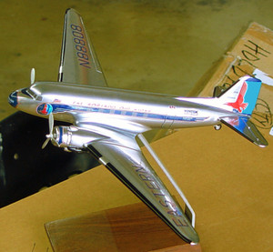 Eastern Douglas DC-3 (chrome)