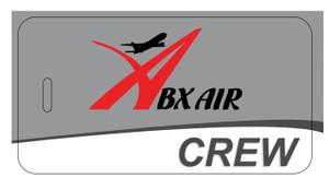 ABX Air logo CREW tags