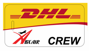 ABX Air / DHL Crew tags