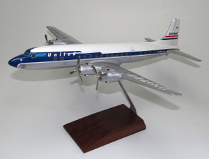 United DC-6 (DARK BLUE)