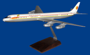 National DC-8-61 Sun King