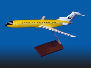 Braniff B727-200 Yellow