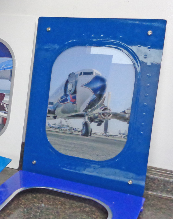Airplane Window Plaque