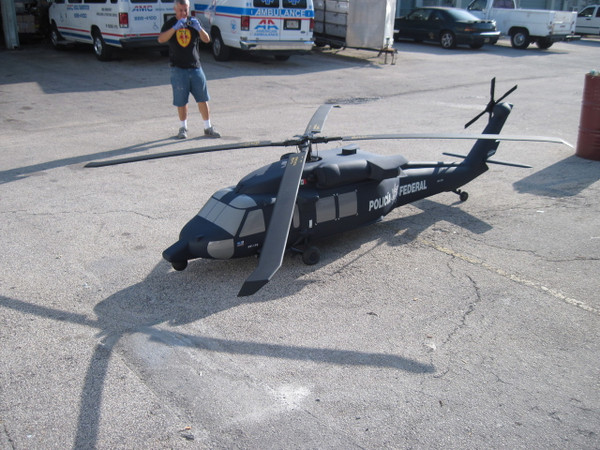 MEXICAN FED POLICE BLACKHAWK
