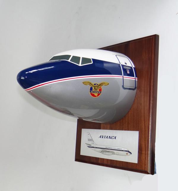 Avianca B727 Nose