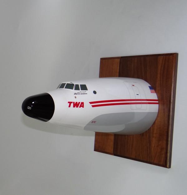 TWA Lockheed L-1049H/01 Super Constellation Nose