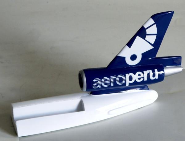 AERO PERU DC-10 Tail Card Holder
