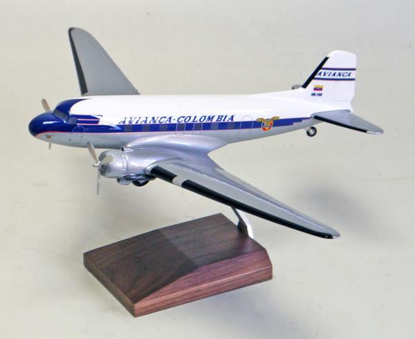 Avianca DC-3 WHITE/BLUE