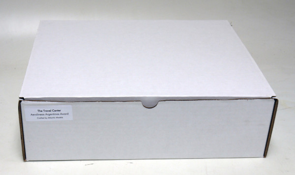Product ships in a gift box with an outer shipping carton for protection