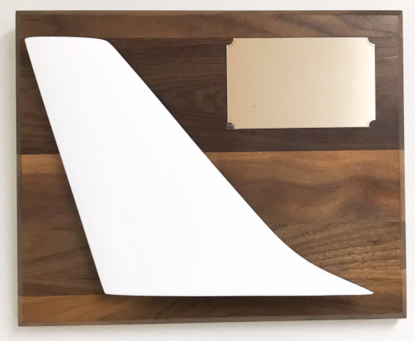 Tail Plaque - Brass Plate