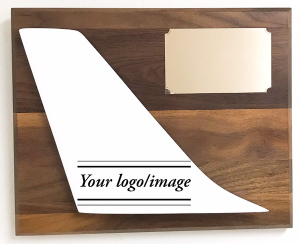 Let us know the airline and we'll add the livery markings (white tail for sample only) We can also print any picture and adapt it to the tail, want your wedding photo, kids, or favorite pets we can make it happen!