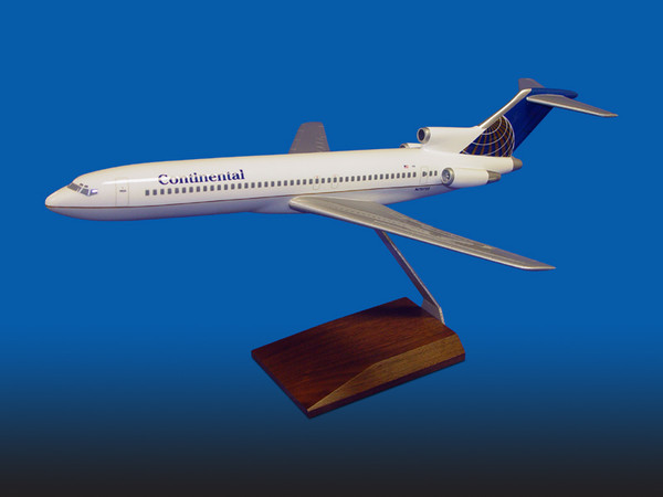 Continental B727-200 Blue
