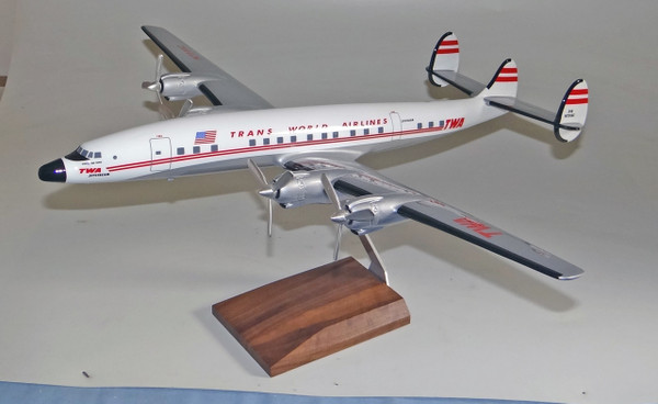 TWA L1649 Connie scale model