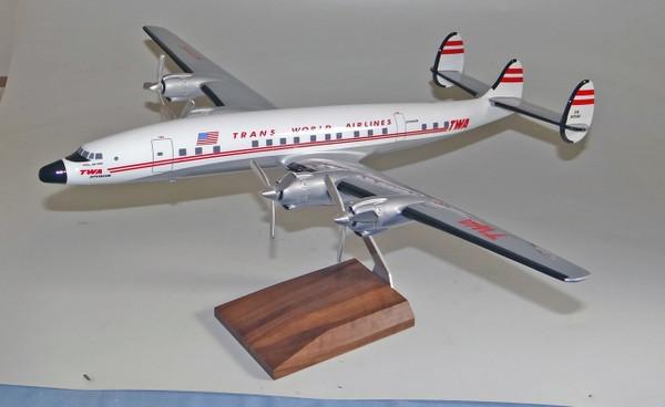 TWA L1649 Connie scale model
