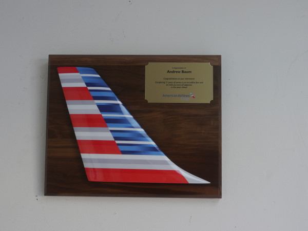 Tail Plaque - American Airlines