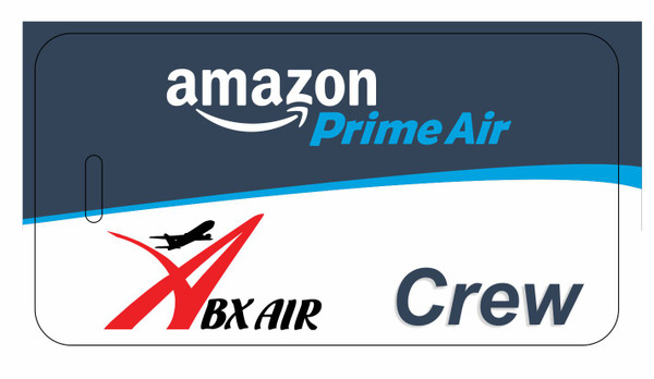ABX Air / Amazon Prime Air CREW tags